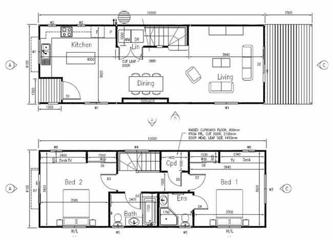 2 Bedroom Landtrak Corporation